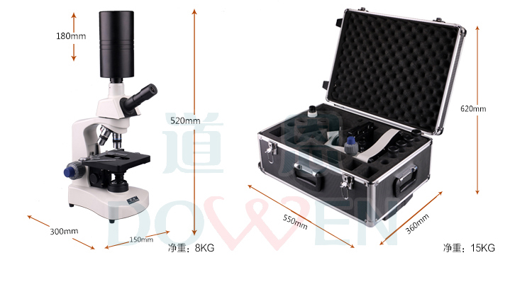 黑背景一滴血检测仪(高清款)产品规格