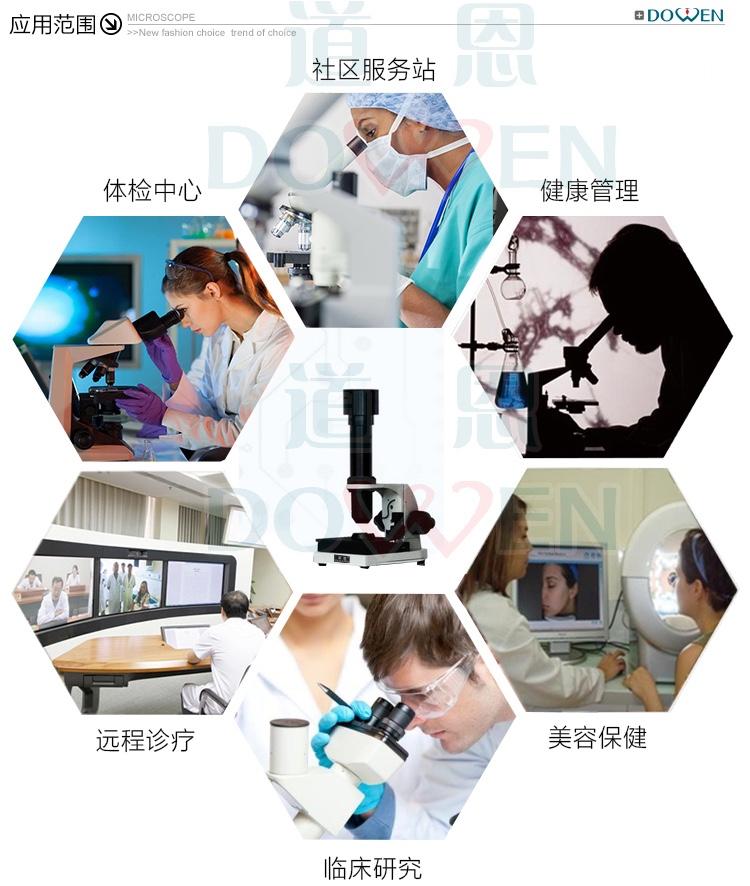 微循环显微镜检查仪应用范围